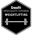 CrossFit - Weightlmifting